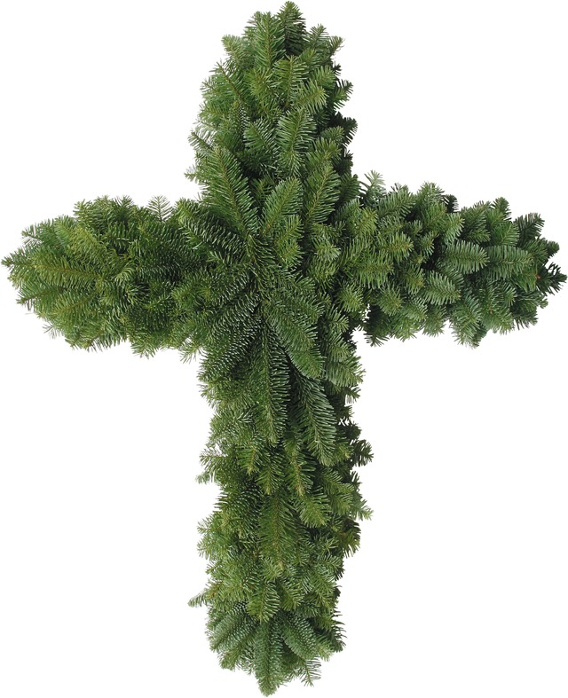 Noble Fir Cross