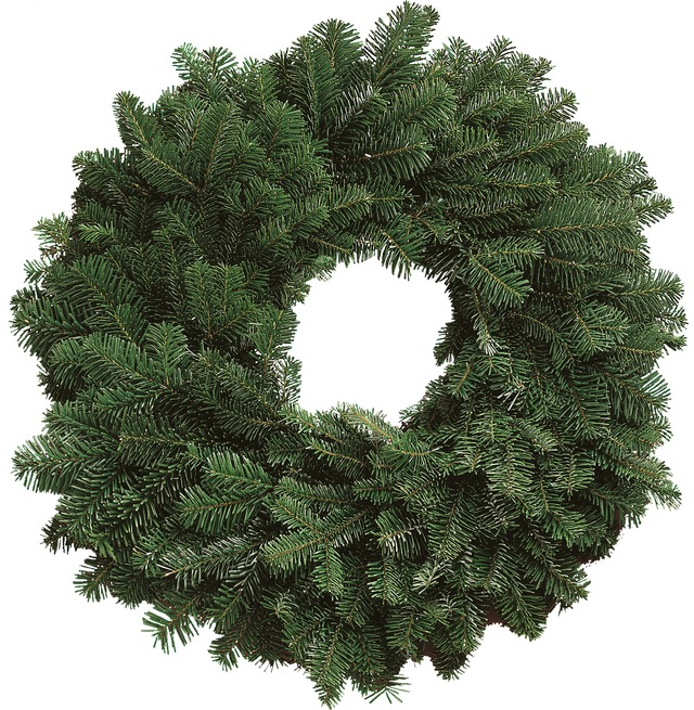 Silver Fir Wreath