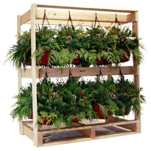 Yuletide Hanging Basket Rack